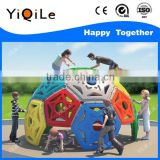 Plastic rock climbing wall factory plastic climbing game