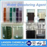 Lansen Water decoloring agent dispense dyestuffs effluent treatment chemical