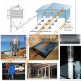Broiler Machine Automatic Silo/Feeder/Drinker/Exhaust Fan/Cooling Pad/Controller for Poultry Chicken Farm House/Shed/Coop/Barn