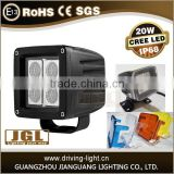 JGL factory hot&cheap 10v-30v auto led work light atv led work light forklift safety light