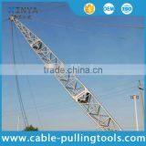 Aluminum Alloy Inside Suspension Lattice Gin Pole Apply to assemble and erect the tower and pole