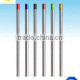 Types of tungsten electrode