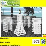 Outdoor bar set Garden bar set Synthetic rattan bar set High quality furniture for restaurant hotel resorts C920