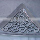 triangle shape serving tray for sale