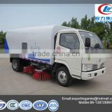 hot sale dongfeng 4 tons right hand drive cheap brushes runway sweeper