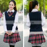 Custom Stylish japanese girl high school uniform Vest