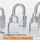 Pin Tumbler Padlock With Chrome Plated
