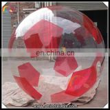 Hot sale clear inflatable water ball,inflatable water walking ball rental,giant beach ball for kid and adult