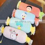 Most popular customized pillow 2 in 1 pillow blanket candy shaped pillow toy blanket that folds into pillow