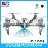 2.4G wifi waterproof rc drone quadcopter toy with camera