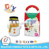 New arrival the DIY outdoor christmas decorations craft snowman kit