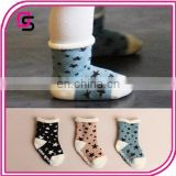 In stock Newborn Babies Pentagram terry socks Baby Socks