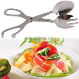 Unique design 3 in 1 food serving tongs / pastry tong