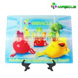 Customized kitchen tempered sublimation glass chopping board hot sale