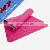 Gymnastics foldable thick tpe eco yoga mat with vent bag