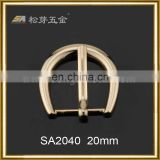 Song A Metal noble Imitation Gold slippy excessive supply half circle pin buckle