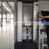 Tensile testing machine for steel tube pipe/leather tensile testing machine/wire cable tensile test machine manufacturer