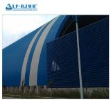 Long Span Steel Coal Storage Shed Space Grid Frame Structures Dry Coal Shed