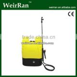 (2166) knapsackrechargeable battery power solar sprayer; battery operated sprayer; electric sprayer 16L
