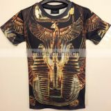 Custom rhinestone design o-neck t-shirts, Printed, sublimation ,Standard Sports