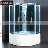 2015New Product High quality Acrylic Spa Hot Free Standing Massage Personal Shower Enclosure Steam Shower Room K-7050
