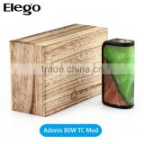 Rare Stabilized Wood Arctic Dolphin Adonis 80W TC Mod, Collection Value Stabilized Wood Adonis