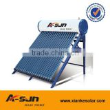 household bath used compact pressurized heat pipe solar hot water heater