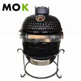 13 inch mini portable kamado charcoal ceramic bbq grill