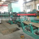 two rollers straightening machine for round brass copper bar