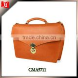 Wholesale Cheap Mens Tote leather briefcases for men, briefcase with combination lock on Sale