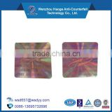 Custom authenticity hologram sticker,Secure genuine hologram sticker,One time use genuine seal sticker