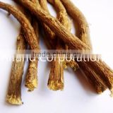 Dried Liquorice Licorice Roots Long Sticks (Mulethi) Afghan Origin Selected Yellow Tip Medium Width Diameter