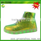 Hot selling girl shoes with led light from China factory