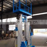 6-20m 200kg 4-mast Aluminum Lift,hydraulic man lift,aerial work lift platform home lift ladder