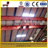 Factory surply drawing customized 100 ton double hook overhead traveling crane used Indoor or outdoor