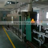 HighTemperature Continuous Wire Mesh Belt Conveyor Muffle Heat Treatment Furnace Production Line