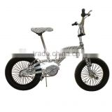 16 INCH FREESTYLE BMX BIKE /BLACK&WHITE ZEBRA FIGURE SINGLE SPEED BIKE FREESTYLE FACTORY SUPPLY
