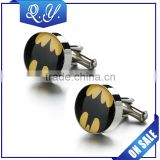 Professional high quality accessory jewelry shirt cuff links custom stainless steel cuff links jewelry hot wholesale