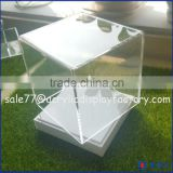 high quality factory price countertop clear acrylic diplay box/ acrylic watch product diplay