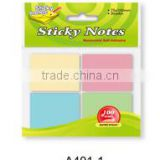 Neon or Pastel color Assorted sticky notes for shool, office, family et