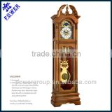 Grandfather clock with crown top Flower carved clock face German made Hermle movement High quality MG2399HR