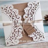 Free sample Customized factory price malay wedding invitation samples wholesale