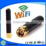 Omni directional 2.4GHz Zigbee Antenna 2dbi rubber antenna for Cc2530 Module