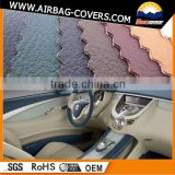 PVC/PU leather car seats used, bus/truck/auto accessories leather material