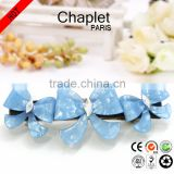2016 French Barrette Hair Clips New Arrivals Butterfly Bow Hair Barrette Fancy Ladies Hair Accessories