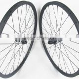650B bicycle wheels carbon, 35mm width*23mm , carbon MTB wheels with DT350 hub 100mm 142mm O.L.D.