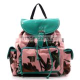 2016 china supplier american army camouflage canvas custom high quality military backpack
