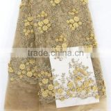 TOP-One China African french lace fabric tulle lace supplier with high quality,5 yards for sample order