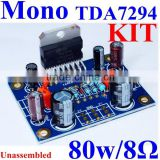 TDA7294 Mono Single Channel Audio Power Amplifier Module Unassembled Board Kit Version DIY Hifi DC35V