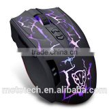 Professional 2500DPI high quality rechargeable 2.4ghz usb wireless optical gaming mouse,